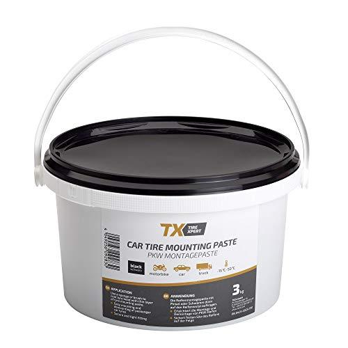 Tire Xpert Reifenmontagepaste 3kg schwarz, Reifenmontierpaste, Montagepaste Reifen schwarz, Montierpaste Reifen 3kg