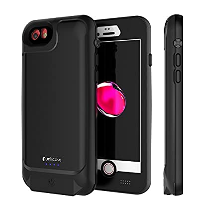 PunkJuice iPhone 6/6s Battery Case - Waterproof Slim Portable Power Juice Bank with 2750mAh High Capacity - Fastcharging - 120% Extra Battery Life - 3 Year EXCHANGE WARRANTY