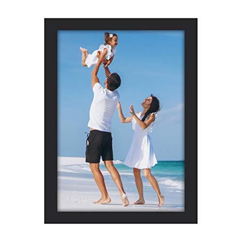 Beyond Your Thoughts Marco de fotos de madera A4 + cristal real (soporte) con mate para fotos de 20,3 x 20,3 cm (8 x 10 pulgadas) o 15,2 x 20,3 cm (1 unidad)