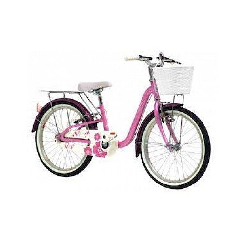 Monty City 2 - Bicicleta de Paseo para niño, Color Rosa, 10