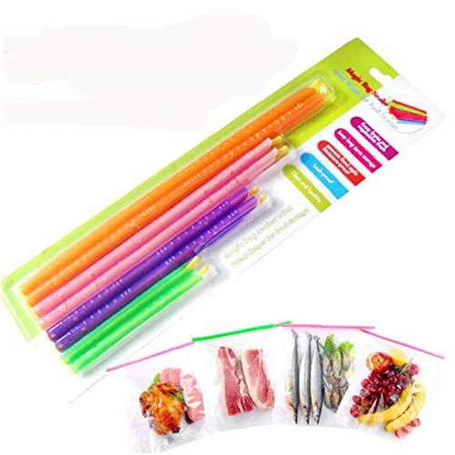 1pack della Famiglia del Sigillatore del Sacchetto Stick Refrigerazione Macchinari E Attrezzature Alimentare di Sigillatura di Sacchetti della Clip Fresca Blocco Stick Imballaggio del Regalo