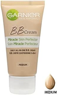 GARNIER Miracle Skin Perfector Daily All in One BB Cream SPF 15 Medium 50ml