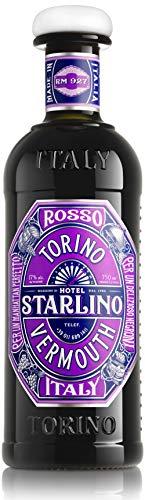 Starlino Rosso Vermouth 17% Vol Alkohol – italienischer roter Wermut, Sweet Vermouth mit Vanillenote gereift in Amerikanischen Bourbon Fässern, Roter Vermouth (1 x 0,75l Flasche)