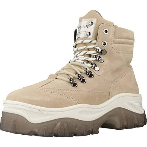 Bronx Shoes Damen Stiefelleten Boots JAXSTAR Braun 40 EU