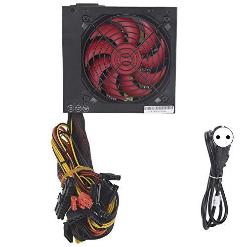 Módulo de Fuente de alimentación, Ventilador Rojo Flexible Ajustable de bajo Consumo de energía Fuente de alimentación Conveniente(European regulations)