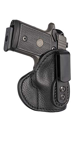 1791 GUNLEATHER Ultra Custom SIG P238 & P938 Leather IWB CCW Holster - Memory Lock Right Handed Leather Gun Holster - Fits Sig Sauer P238, Sig Sauer P938