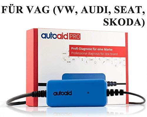 autoaid Kfz Diagnosegerät für VAG (VW, Audi, Skoda, Seat) - Tiefendiagnose