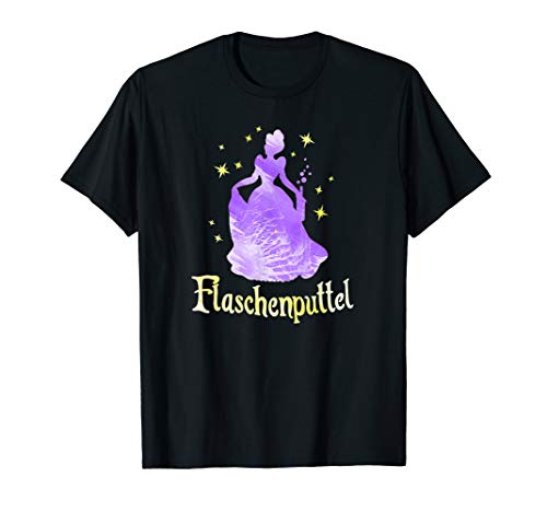 Flaschenputtel Prinzessin | Junggesellenabschied JGA Party T-Shirt