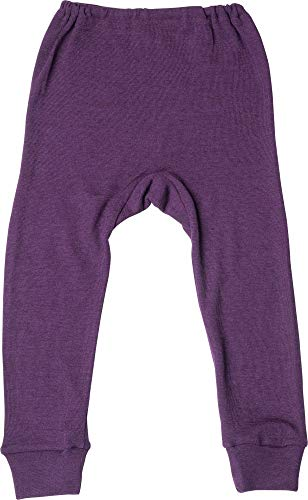 Cosilana Lange Unterhose Wolle/Seide 140 Uni Pflaume 23