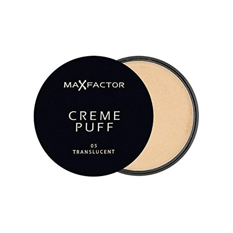本土パトロン抽象化Max Factor Creme Puff Powder Compact Translucent 5 - マックスファクタークリームパフパウダーコンパクト半透明5 [並行輸入品]