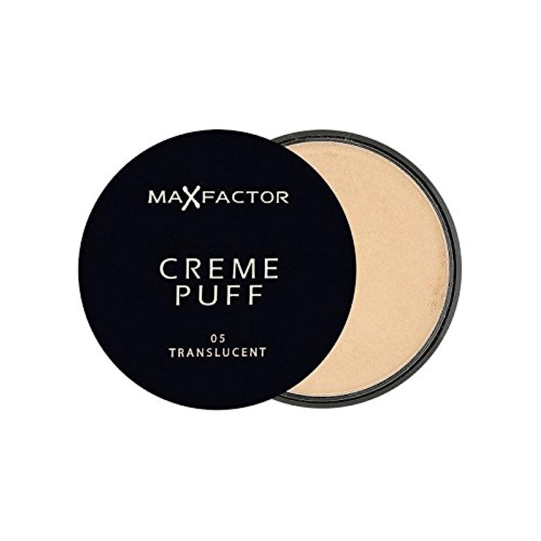 マックスファクタークリームパフパウダーコンパクト半透明5 x2 - Max Factor Creme Puff Powder Compact Translucent 5 (Pack of 2) [並行輸入品]