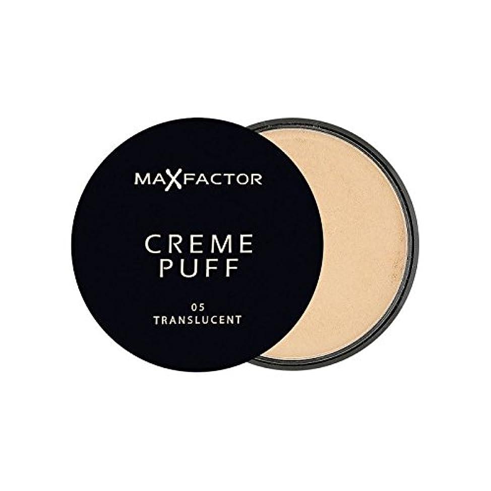 までどれ農民マックスファクタークリームパフパウダーコンパクト半透明5 x2 - Max Factor Creme Puff Powder Compact Translucent 5 (Pack of 2) [並行輸入品]