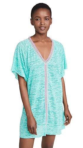 Pitusa Women's Mini Abaya Dress, Mint, Green, One Size