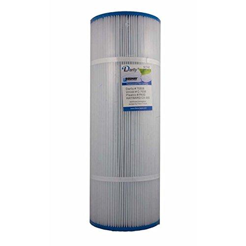 Darlly® Filtre Filtre de rechange sc742 Filtre à lamelles Cal Spas Hayward hollib AUGH