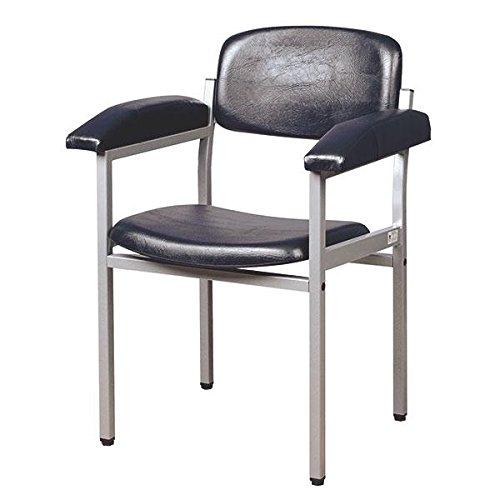 Servocomfort Blutentnahmestuhl schwarz Bequemes Sitzen bei der Blutentnahme