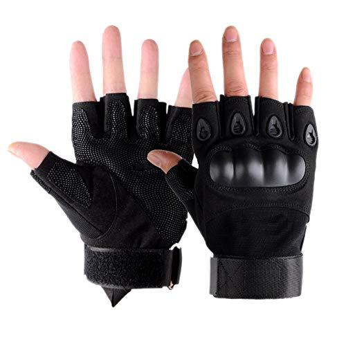 Outflower. Handschuhe Army Fan Taktische Herrenhalbfingerhandschuhe Outdoor Bergsteigen Fitness Reiten Fingerlose Handschuhe Schutzkleidung Tragen Rutschfeste 22-24 cm