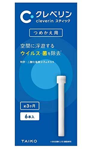 【まとめ買い】 大幸薬品 クレベリンスティック つめかえ用 (スティック6本入り) ×5箱