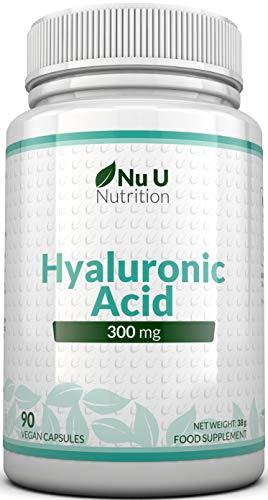 Ácido Hialurónico 300 mg | 90 Cápsulas (Suministro Para 3...