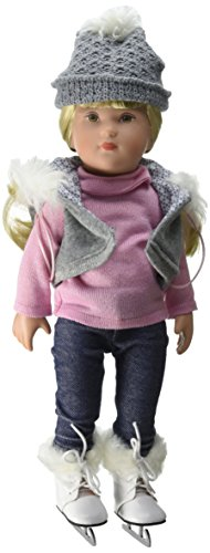 Käthe Kruse 41469 - Sophie Muriel Schlittschuhläuferin Puppe