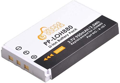 Pickle Power Batería R-IG7, 950 mAh/3,7 V, ion de litio para Logitech Harmony LOH880 900 720 850 880 885 890 Pro H88 mando a distancia universal