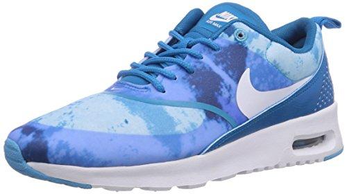 Nike Damen WMNS AIR MAX THEA Print Sneakers, Blau (BLUE), 36.5 EU