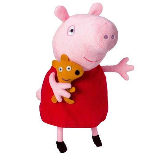 Peppa Pig Peluche Peppa con Voz (Bandai 84255)