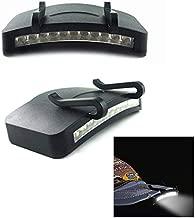 Mützenlicht Caplight Klemmleuchte mit 5 LEDs NEU Helle Schirmlampe