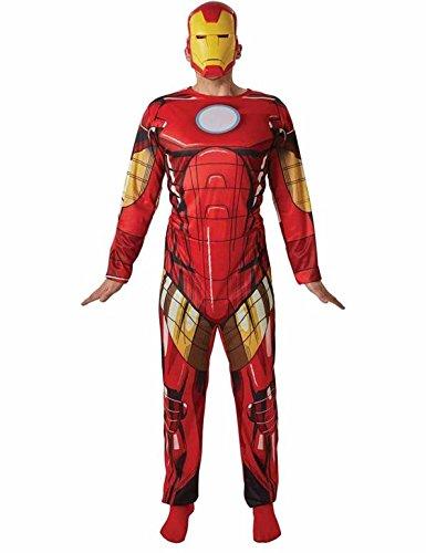 Rubie's - Costume Ufficiale Marvel Iron Man Classic, per Adulti, Taglia XL
