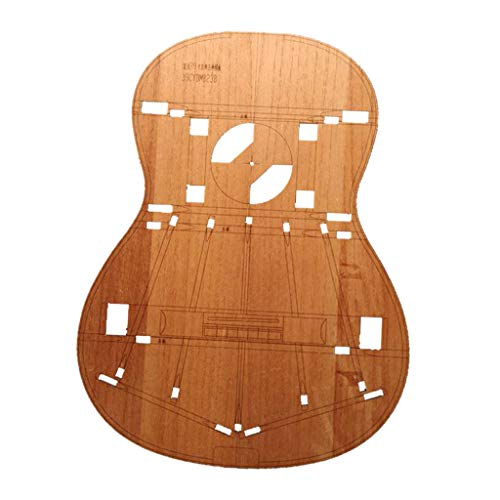 39 Zoll Holz Mini Gitarre Körper Vorlage für Gitarre Machen Making, Ca. 400 x 325 x 2 mm