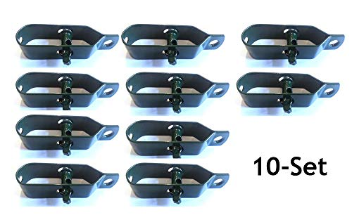 10x Drahtspanner 100mm Spanndraht grün Maschendraht Zaunspanner