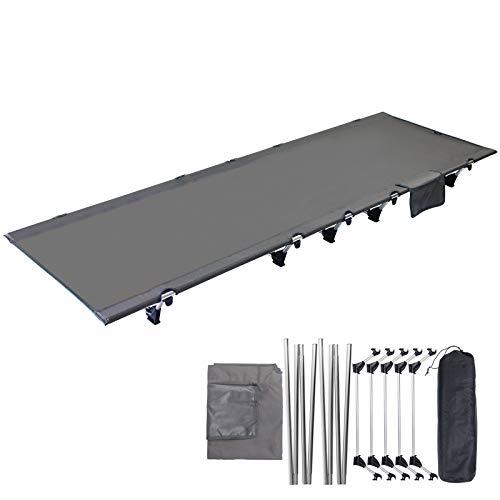 アウトドアベッド 折りたたみ式 ベッド コット 超軽量 耐荷重150kg キャンプコット 収納袋付き 航空アルミ 防災用 簡易ベッド 野外用 組み立て簡単