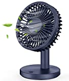 MOSOTECH Ventilateur USB de Table - 3 Vitesse Réglable, 7 Pales Ultra Silencieux,...