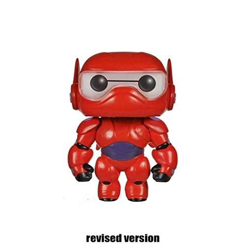[Super Marines] Red strijd pak opblaasbare robot POP Figuur Model Action Figure ongeveer 4 inch
