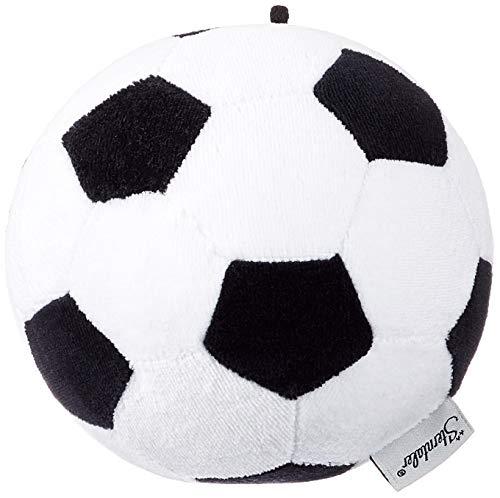 Sterntaler 33010 Ball, Fußball-Design, Alter: Kinder ab 0 Jahren, Schwarz/Weiß