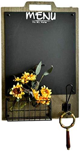 Zwevende planken voor het ophangen van kleding, wandplank, wandplank, wandplank, wandhouder, decoratief frame, badhanddoek (kleur: bruin, maat: 49 x 30 x 8 cm) 49 * 30 * 8cm Blue