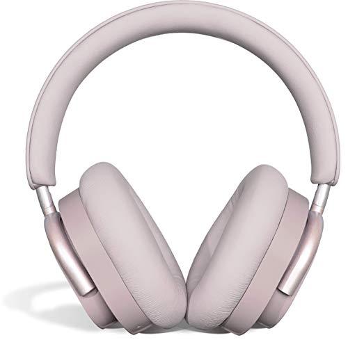 KNOW - Calm Headphones - Wireless Noise Cancelling Headphones Bluetooth - Wireless Bluetooth Headphones Wireless - Wireless Bluetooth Headphones Over Ear Headphones - Workout Headphones - Plum Gray