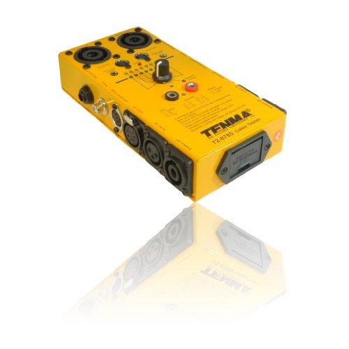 Universele kabel/lood-tester voor 3,5 mm/6,35 mm jacks, 3/5/8 pin Din, 3/5 pin XLR