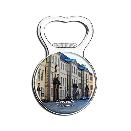 Weekino Bayreuth Innenstadt Deutschland Bier Flaschenöffner Kühlschrank Magnet Metall Souvenir Reise Gift