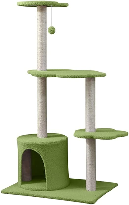 TDDGG Pet Furniture Scratching Post Tree Cats Don't miss the campaign Acc Tower Credence Supplies
