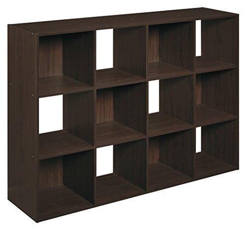 ClosetMaid 1292 Cubeicals Organizer, 12-Cube, Espresso