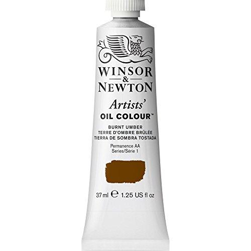 Winsor & Newton Artists' Oil Color Paint, 37-ml Tube, Burnt Umber