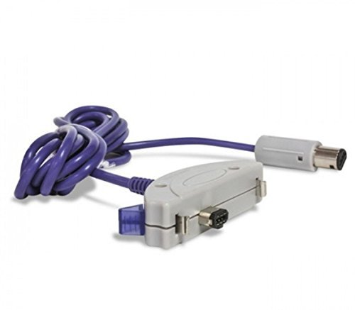 Link-e ® : Verbindungskabel (Link Kabel) Für Spielekonsolen Nintendo Gamecube Und Game Boy Advance (GBA, GBA SP, Pokemon, Cable...)