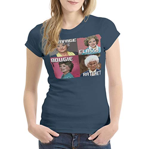 Savage Classy Bougie Ratchet Women's Golden Girls T-shirt, 6 Colors, S to 3XL