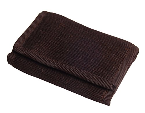 Green Breeze Imports Brown RFID Shielded Natural Abaca Fiber Large Wallet