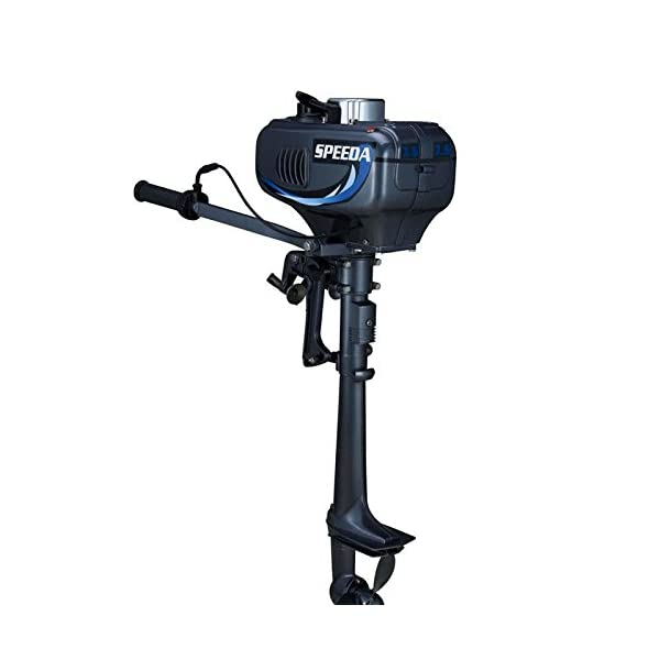 Electric Outboard Motor for Boat, Motor Electric Outboard (equivalent to 3.5 horse power, 2-Stroke)