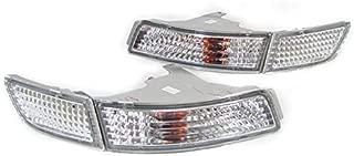 REVi MotorWerks DEPO Crystal Clear Front Bumper Signal Lights Set FIT for 1991-1995 Toyota MR2 / MR-2 SW20