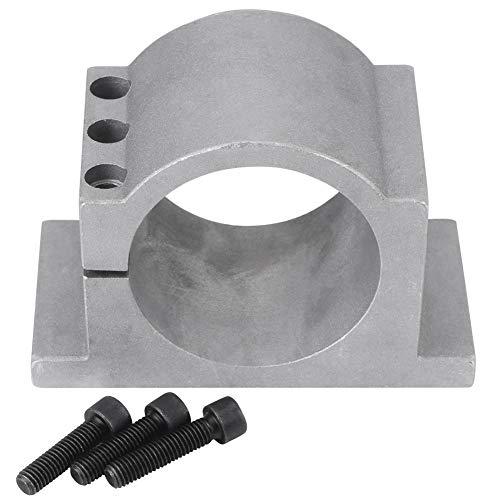 Zhoul 80/100mm Diametro Alluminio CNC Mandrino Montaggio Motore Staffa Morsetto Componente Meccanico Accessorio Strumento Viti Swith(80mm)