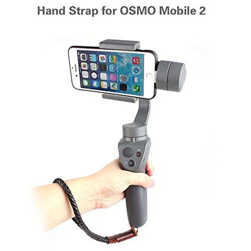 Bescita Dragonne cordon Passant de ceinture pour DJI Osmo de Handheld Mobile Smartphone Gimbal Stabilisateur Caméra GoPro simple miroir Appareil photo Micro Single