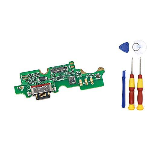 AiBaoQi Conector USB de la Junta de Carga de Micrófono Para Cubot X19 Teléfono Flex Cables módulo de carga teléfono Mini Puerto USB