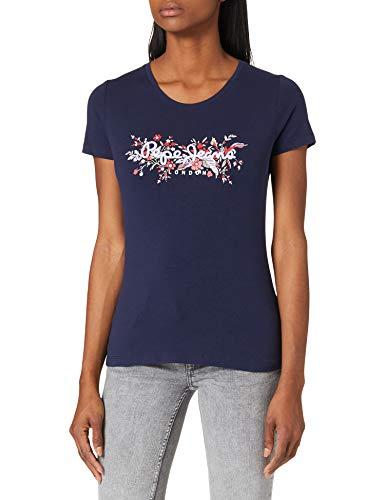 Pepe Jeans Begoña Camiseta, 583 Temas, M para Mujer